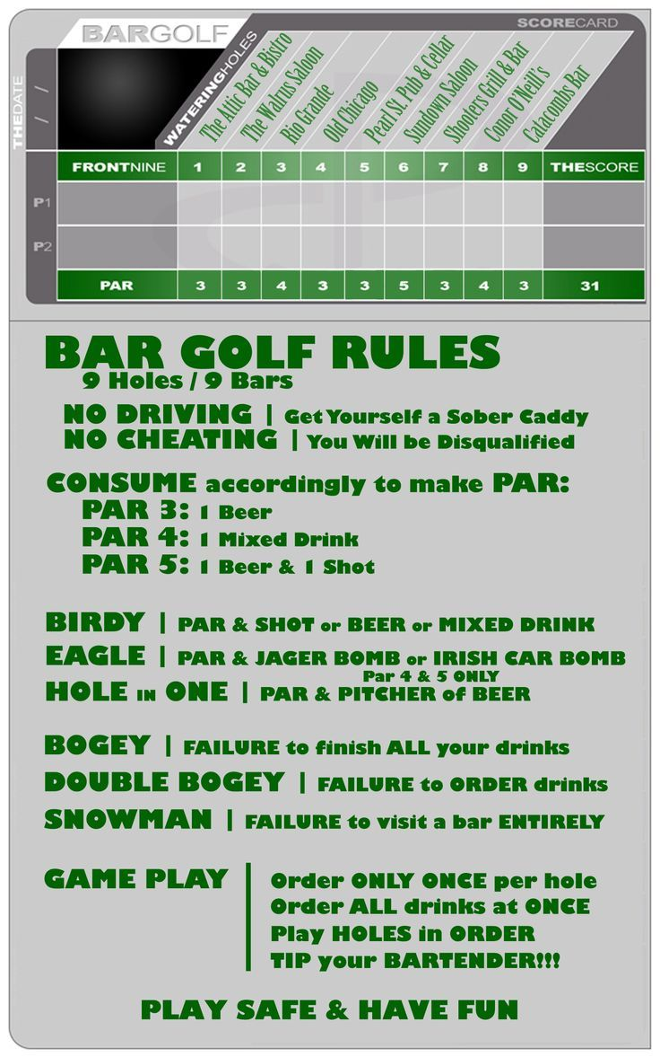New Golf Rules 2019 – Knucklehead Tour